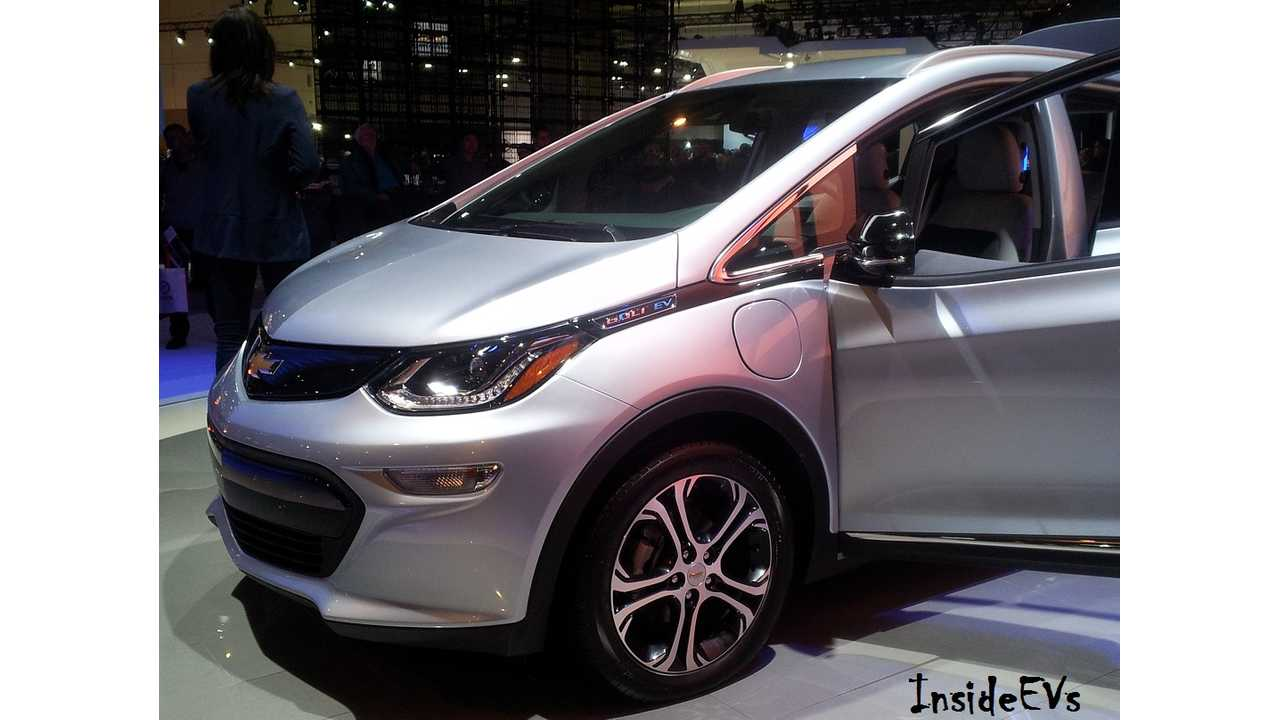 Update: Chevrolet Bolt EV Looks To Be Priced At $42,795, Rebates Up to $14,000 Available