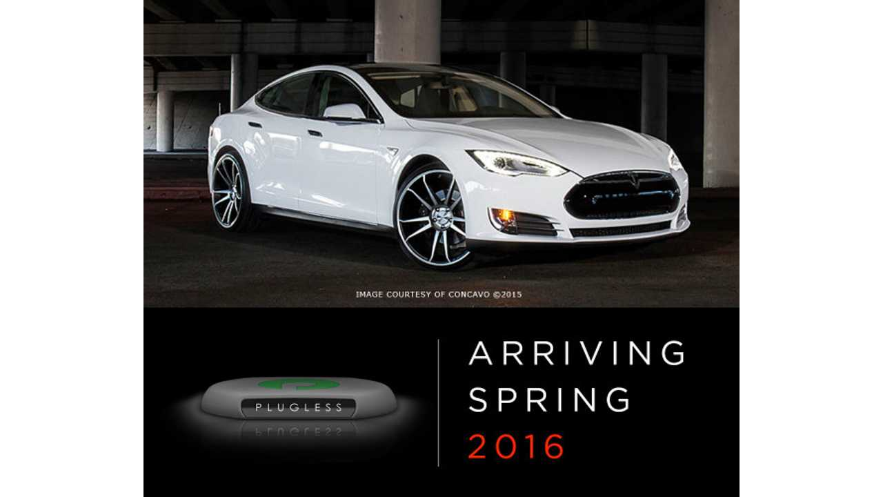 Plugless 7.2 kW Wireless Charger for Tesla Model S - Reservation