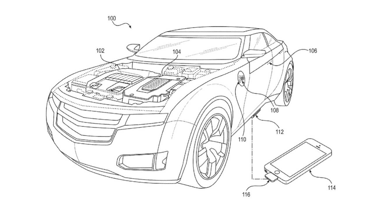 Faraday Future phone charger patent