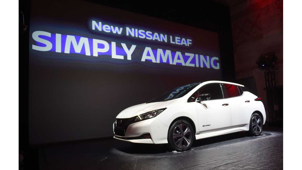 2018 Nissan LEAF Production Kicks Off Today In U.S.