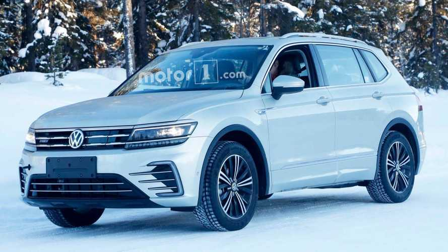 Volkswagen Tiguan Plug-In Hybrid Spied Without Camo