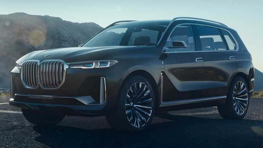 BMW X7 iPerformance PHEV SUV Leaks Out
