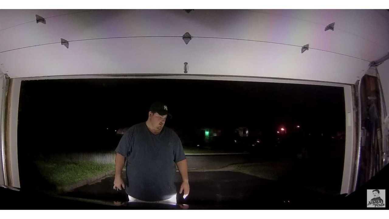 Summoned Tesla Model X Drives Through Garage Door (w/video)
