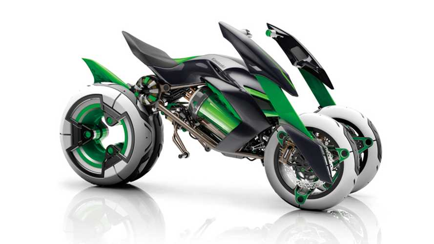 Kawasaki Teases Radical Old Concept In New Video