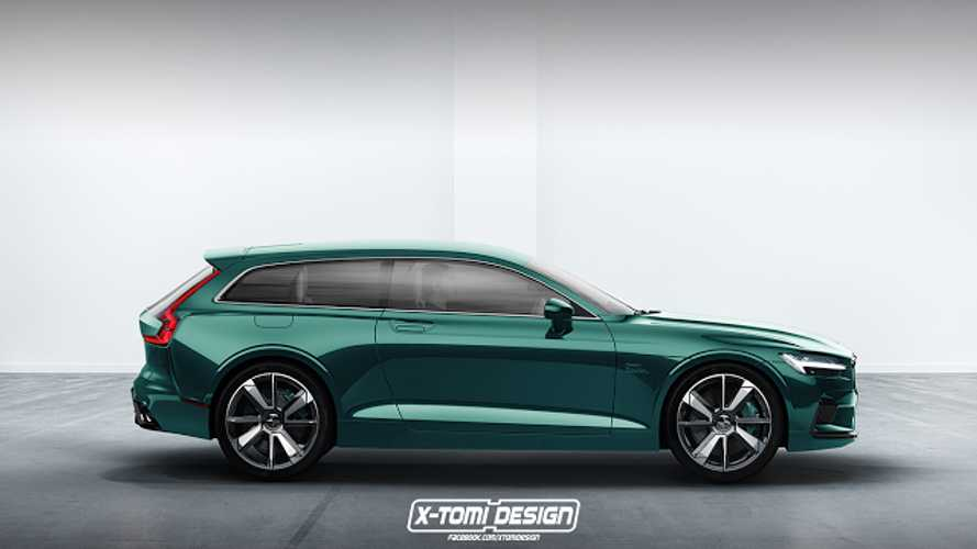 Polestar 1 Rendered In Wagon Form