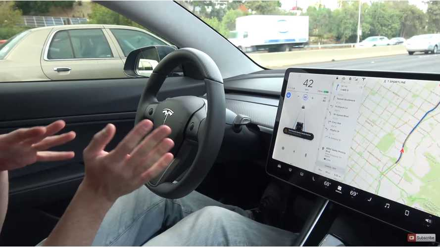 Tesla Didn't Log A Single Self-Driving Test Mile In California In 2017