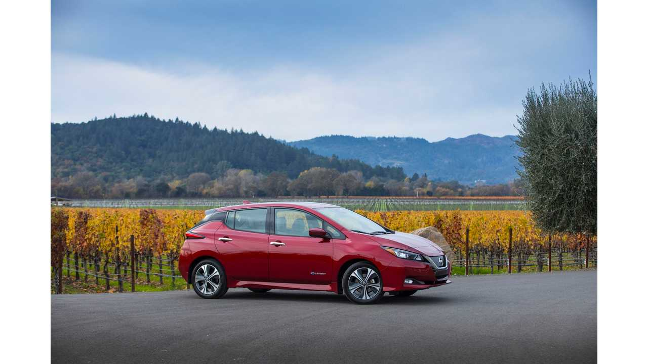 2018 Nissan Leaf Is Kbb S 5 Year Cost To Own Winner Among Evs