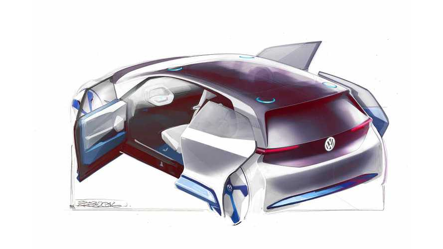 Volkswagen Releases Sketches Of New Electric Vehicle