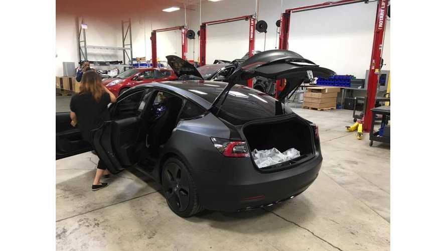 New Tesla Model 3 Images Emerge