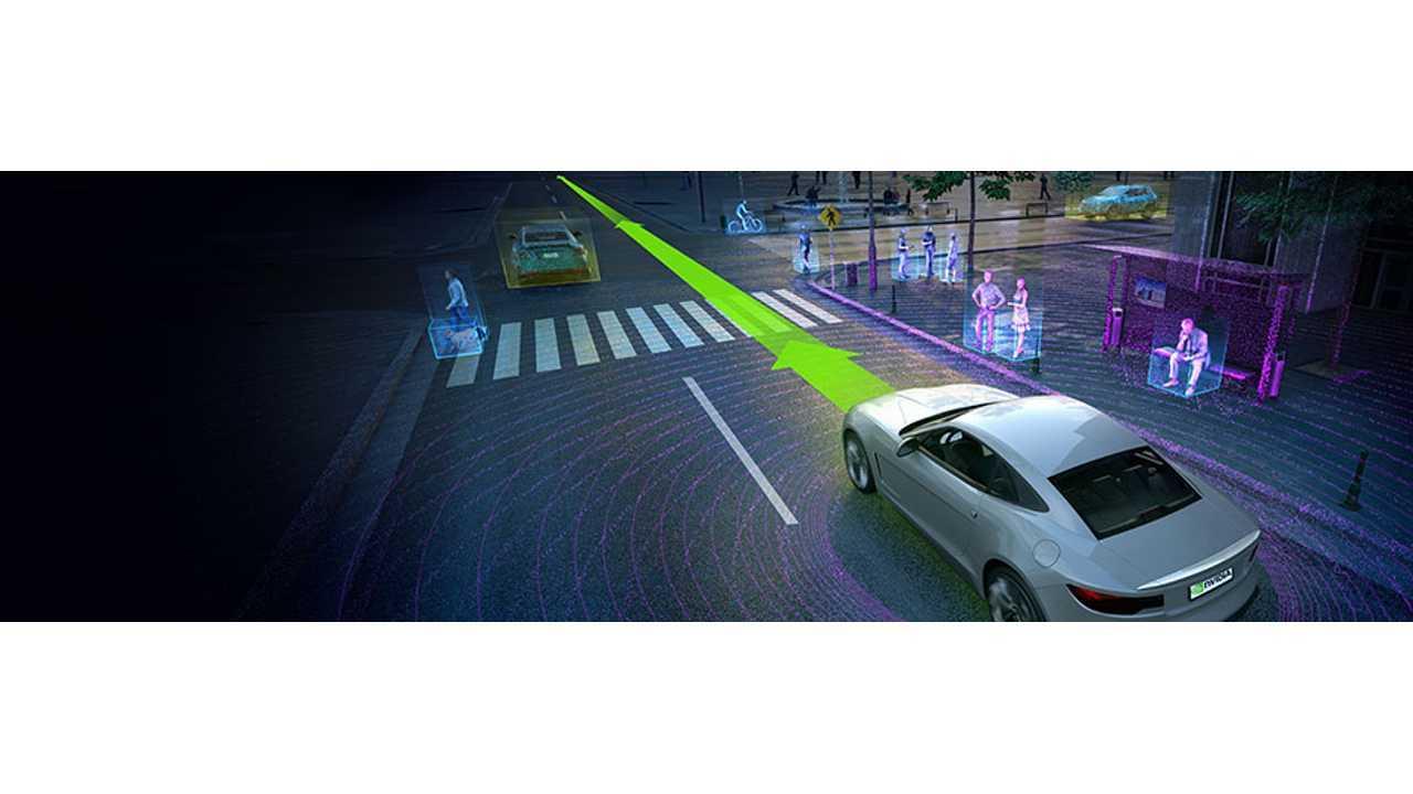Tesla Chip-Maker NVIDIA Demonstrates Self-Driving Car That Uses AI
