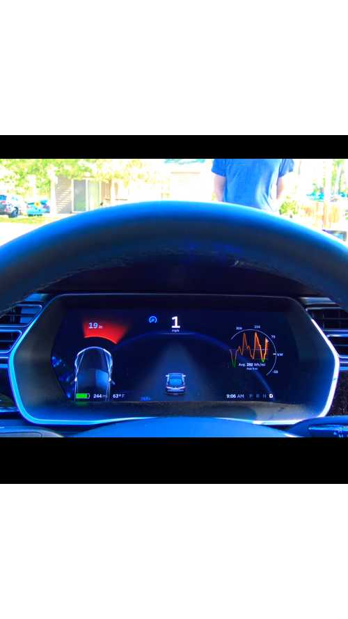 Tesla Model S Collision Avoidance With Human Test Subject - Videos