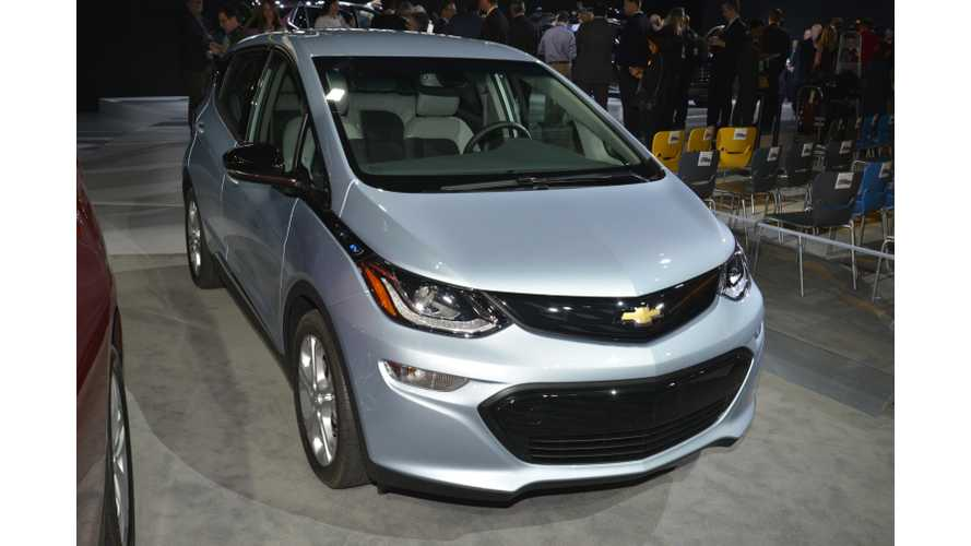 "Kelley Blue Book Chevrolet Bolt Test Drive Concludes Bolt Is ""Legitimate Breakthrough Entry"" In EV Segment"