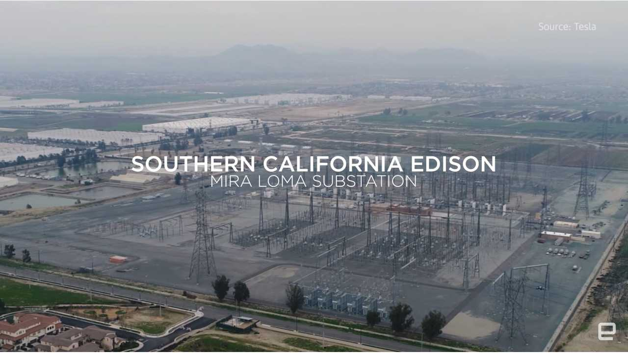 The Tesla Powerpack made this joint effort by Tesla and Southern California Edisonpossible.