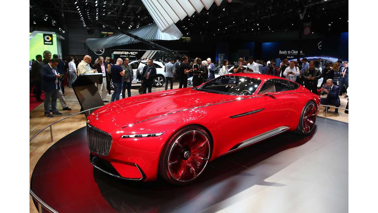 Vision Mercedes-Maybach 6 In Paris - Photos & Videos