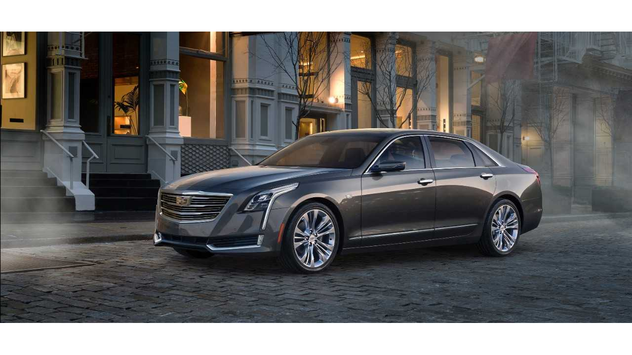 General Motors To Import Plug-In Hybrid Cadillac CT6 From China To Sell In U.S.