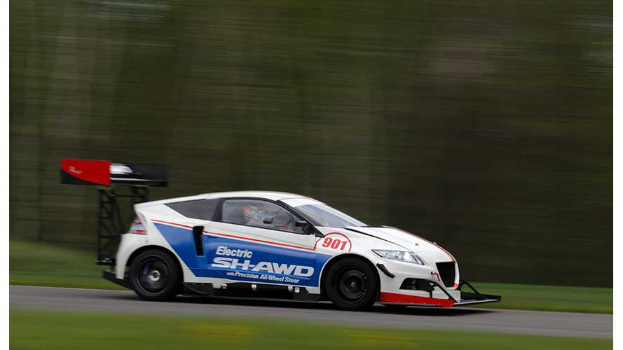 Electric Honda CR-Z To Compete At Pikes Peak