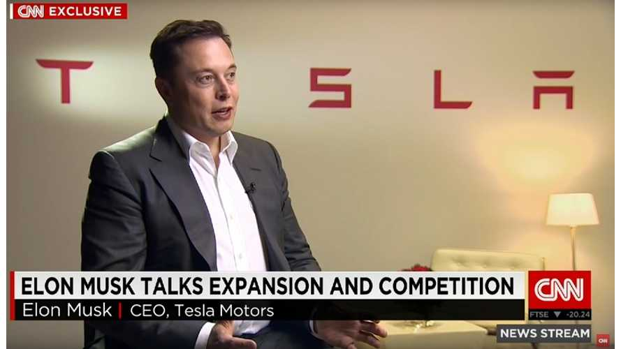 Elon Musk Interview On CNN - Expansion And Competition - Video