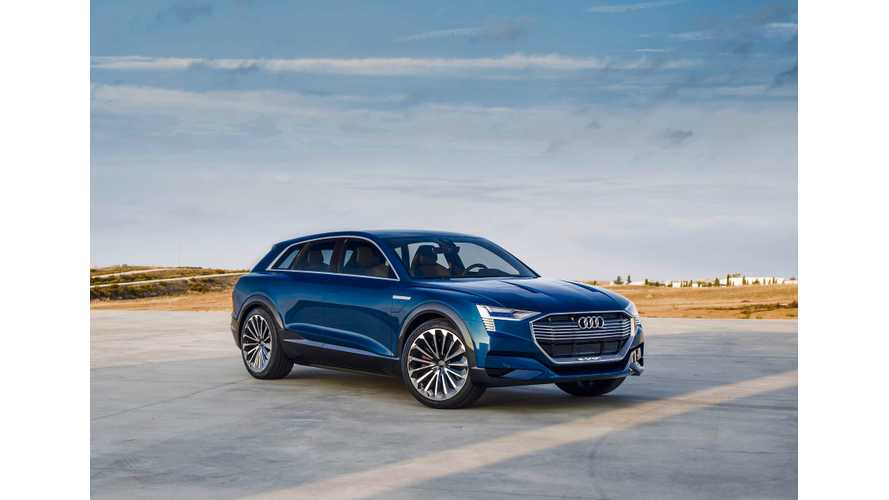 Starting In 2018, Audi's Belgian Factory Will Only Produce Long-Range e-tron SUV & Battery Packs