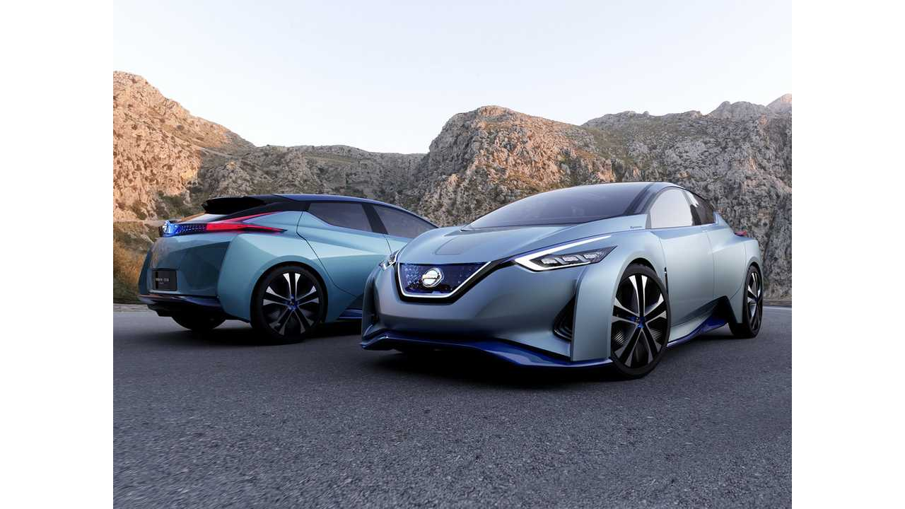 Nissan Ids Concept Foreshadows Look Of The Next Generation Leaf For 2018