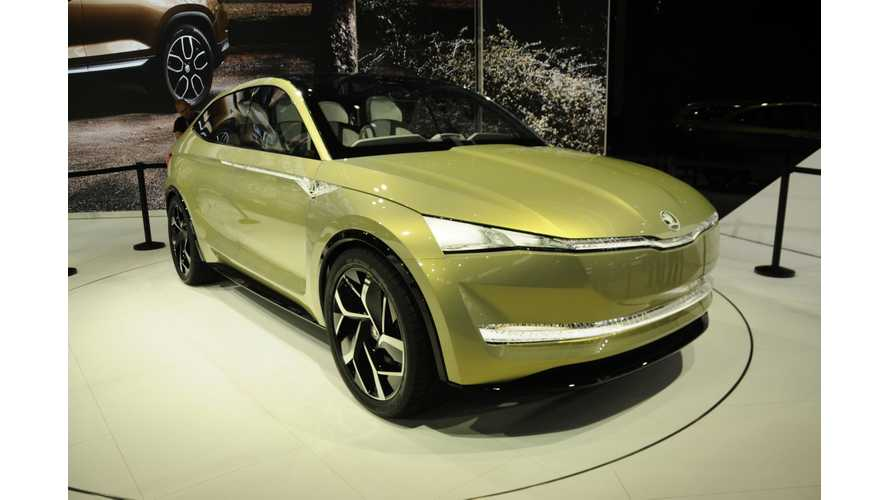 Skoda's Electric Vehicle Push Includes Hatch, SUV & More