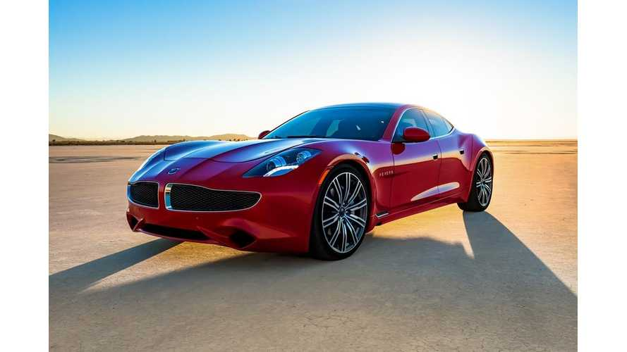 Official EPA Figures Show Revero Electric Range, Efficiency Way Below Karma's Estimate