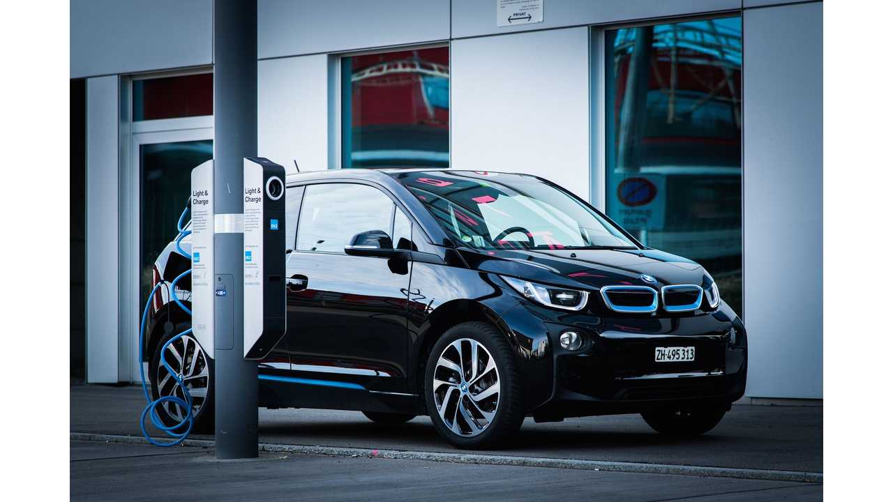 BMW i3 at Light & Charge