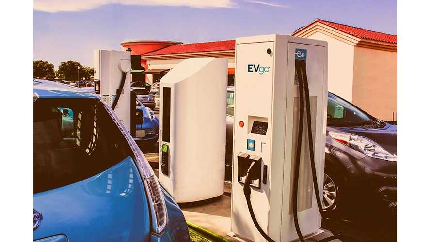 EVgo Reaches Milestone Of 750 DC Fast Chargers In U.S.