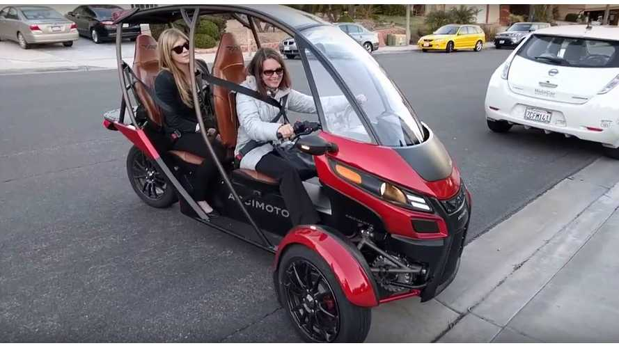 Arcimoto SRK EV Test Drive Review