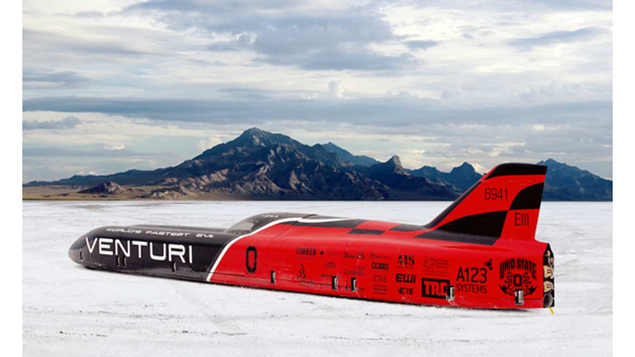 Venturi Will Be Back On The Salt Flats This Summer