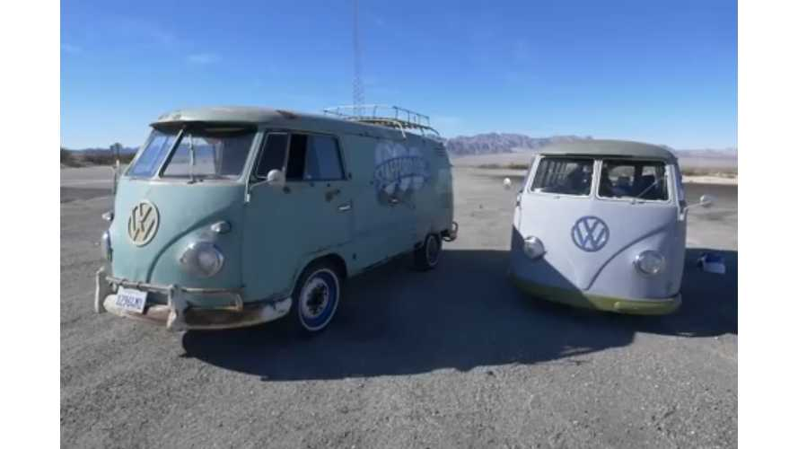 Electric Samba Project:  The eSamba Attempts A 266 Mile Trip - Video