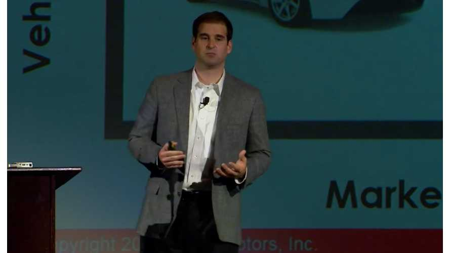 Tesla's JB Straubel: Most People At Tesla Now Working On Model 3 - Video