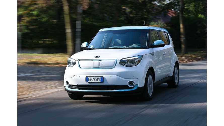 2017 Kia Soul EV Expected To Get Range Boost