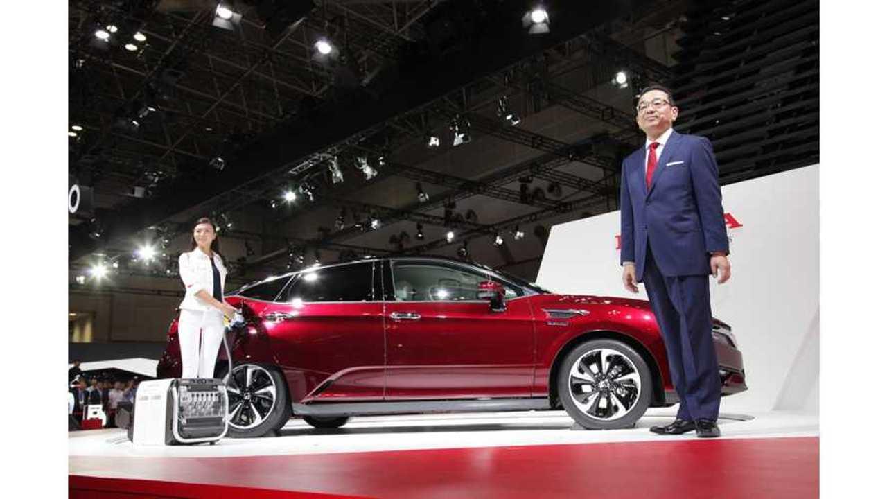 Honda Clarity Fuel Cell Debuts In Tokyo