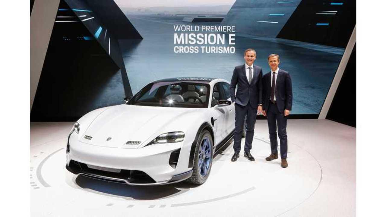 Porsche Explains Mission E Cross Turismo Design