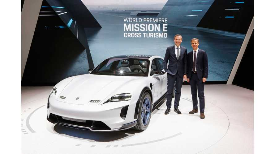 Porsche Explains Mission E Cross Turismo Design
