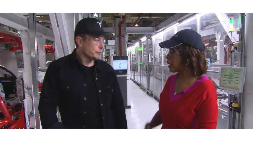 UPDATE: Watch Tesla CEO Musk On CBS This Morning