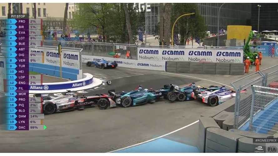 Watch Video Highlights From Rome Formula E ePrix, Plus Pope Blessing