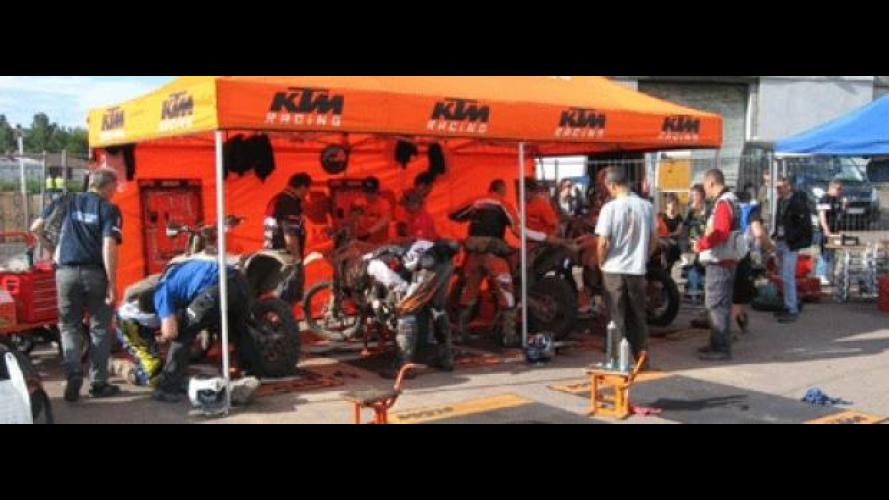KTM: Special Race Service all'ISDE 2012