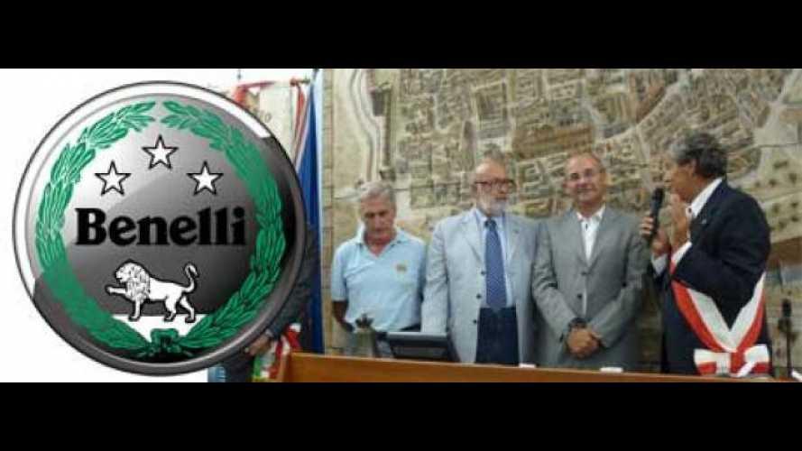 Il Comune di Pesaro premia la Benelli