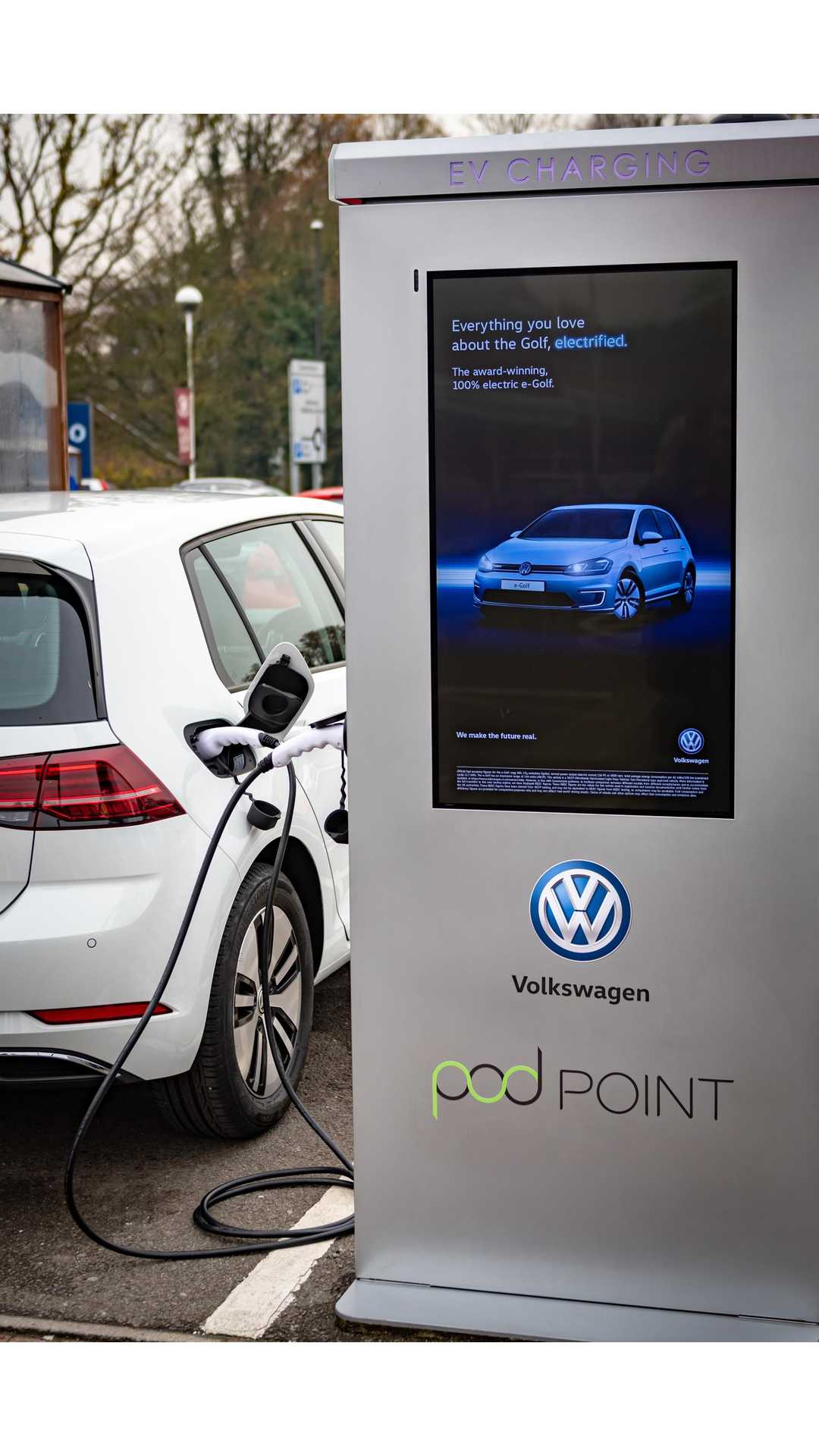 Vw Teams With Tesco Amp Pod Point To Install 2 400 Charging Stalls