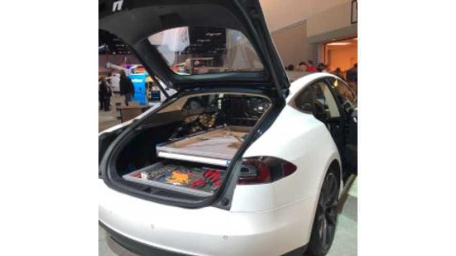 Tesla Model S Mobile Service / Repair Vehicle Surfaces