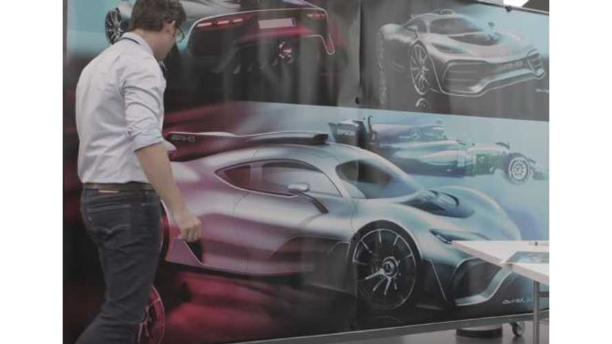 Mercedes-AMG Project One Design In Detail - Video