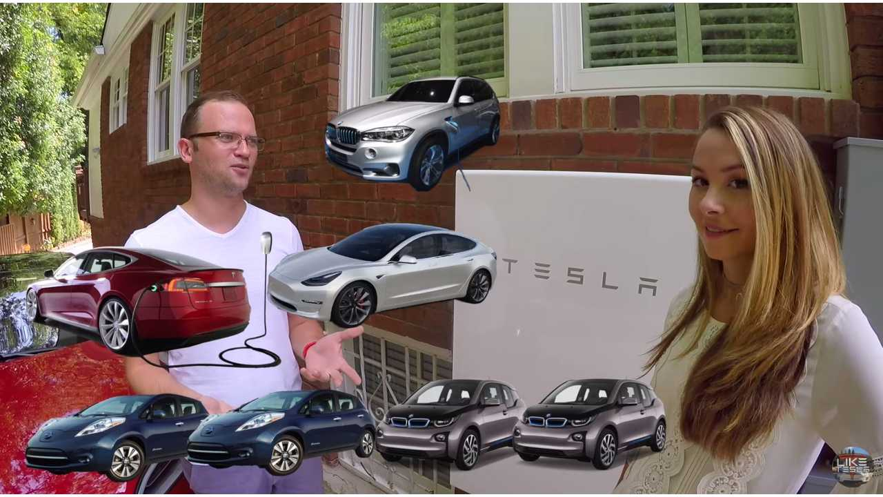 InsideEVs Contributor Talks Tesla Powerwall, Solar, EV App Integration - Video