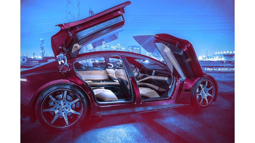 Fisker EMotion Gets Full Unveil At CES - 0-60 MPH In Under 3 Seconds, Range Over 400 Miles