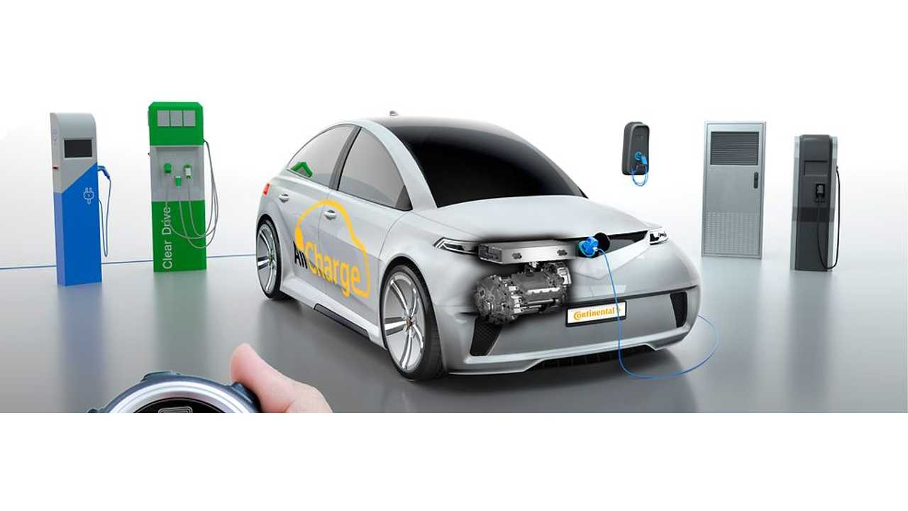 AllCharge Technology from Continental Makes EVs Fit for Any Type of Charging Station