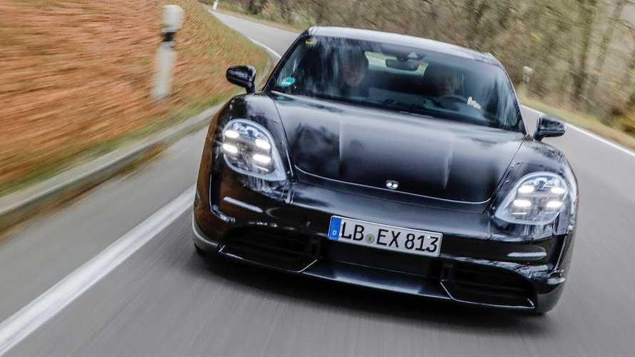 Watch Porsche Taycan Get Tested By Rally Legend