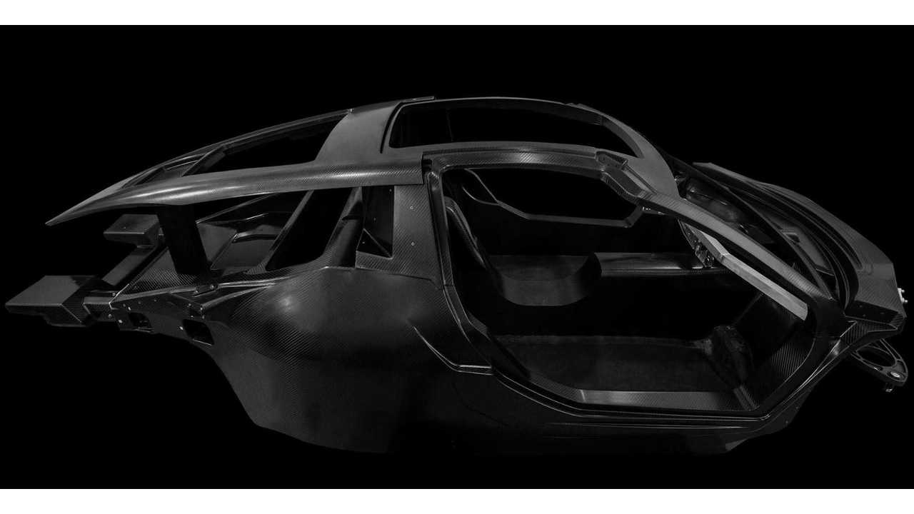 Hispano Suiza Reveals Carbon Fiber Monocoque For Electric Carmen GT