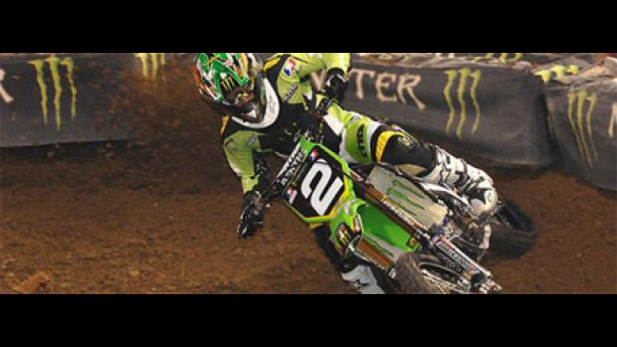 AMA Supercross 2011, Indianapolis: Villopoto batte Stewart