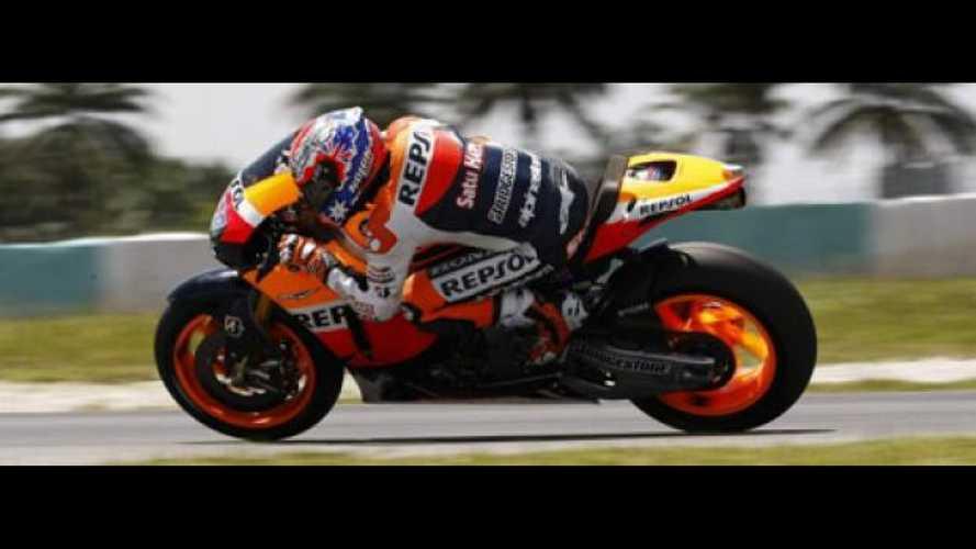 MotoGP 2011, 2nd Test Sepang, Day 2: dominio Honda