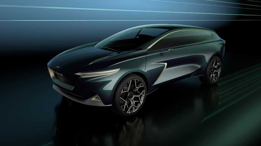 Lagonda All-Terrain Electric Concept Previews Future EV Crossover